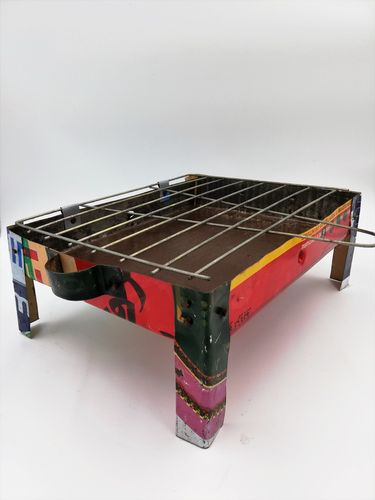 "Handgemachter ""Upcycling"" Grill"